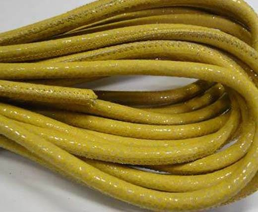 Fine Nappa-Sting Ray Style Shinny Yellow-6mm