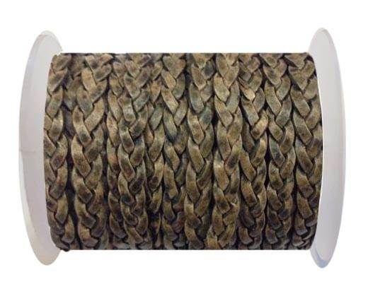 Choti-Flat 3-ply Braided Leather --SE-PB-11-5MM