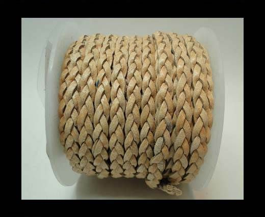 Choti-Flat 3-ply Braided Leather -5mm-SE FBCW 01