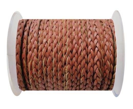 Flat 3-ply Braided Leather-SE-B-2010-3MM