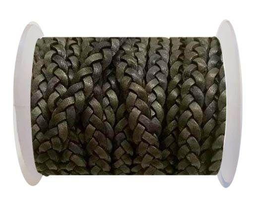 Choti-Flat 3-ply Braided Leather -SE DB 13