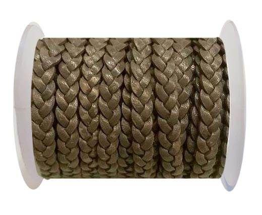 Choti-Flat 3-ply Braided Leather -SE FBC 11