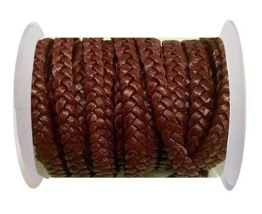 Choti-Flat 3-ply Braided Leather -SE FPB 13