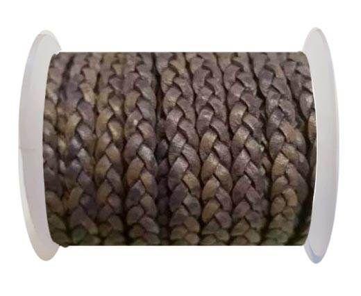 Choti-Flat 3-ply Braided Leather -SE FPB 14