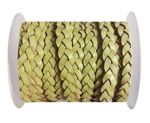 Choti-Flat 3-ply Braided Leather --5MM-SE FBC 03