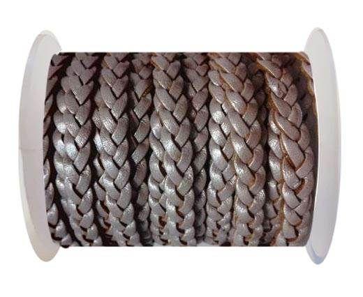 Choti-Flat 3-ply Braided Leather --5MM- SE M 07