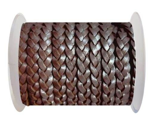 Choti-Flat 3-ply Braided Leather --5MM-SE M 01