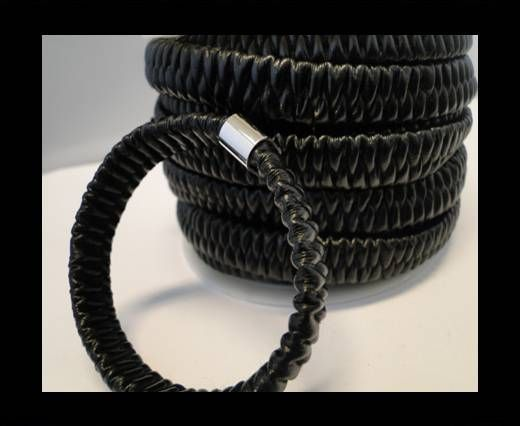 Buy synthetic nappa leather Elastic-Nappa-10mm-Black at wholesale price