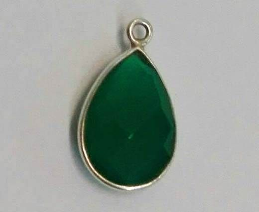 Buy Stone Pendants-GREEN ONIX at wholesale price