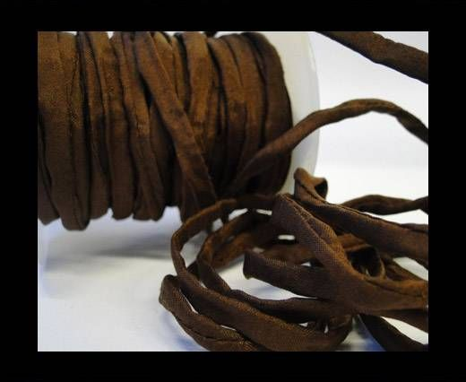Habotai silk cords - 4658 - Deep Brown