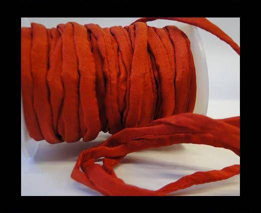 Habotai silk cords - 4672 - Deep Saffron