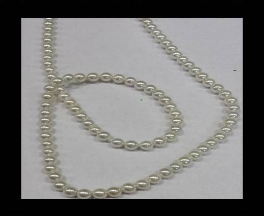 High quality pearls 4-mm-white