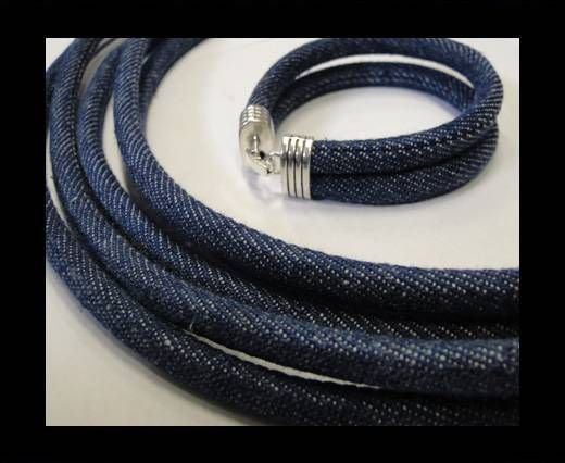 Jeans Cords-4mm-Dark blue style 1