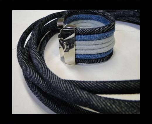 Jeans Cords-6mm-Dark blue style 2
