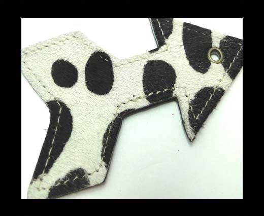 KC-Key Cord Arrow Shape 4cm Cow