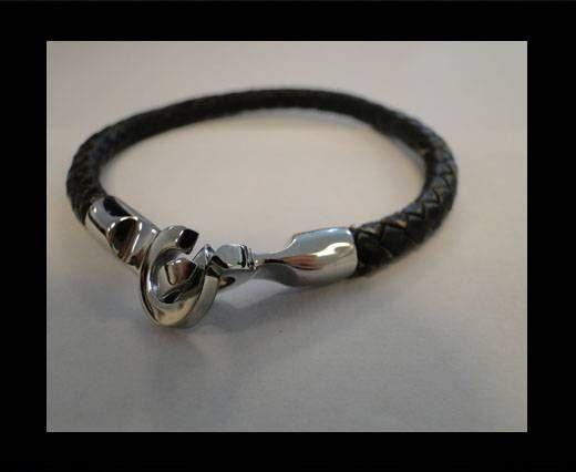Leather Bracelets MLBSS-13