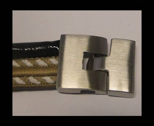 Stainless Steel Hook Clasp - MGST-68