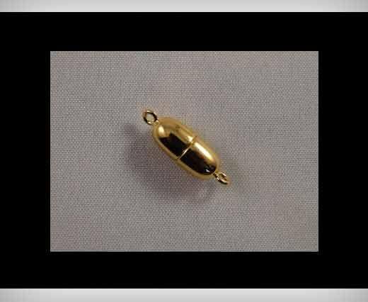 Magnetic Locks-Rhodium Plated -HMG-01