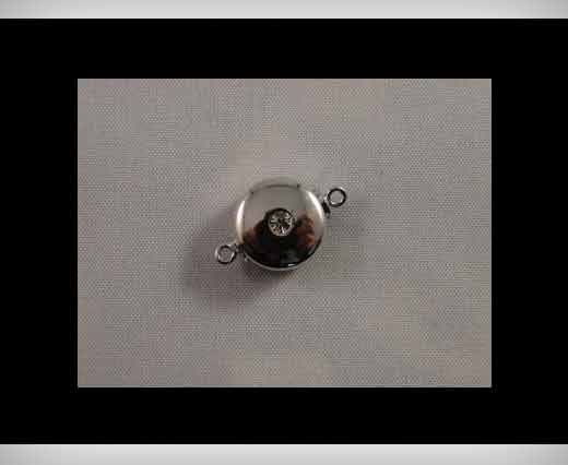 Magnetic Locks-Rhodium Plated -HMG-05