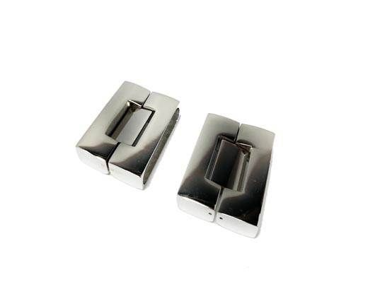 Stainless Steel Snap Lock - MGST-14-30.5*7.5mm