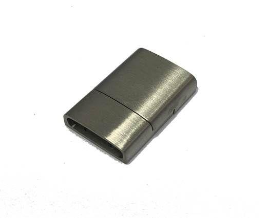 Stainless Steel Magnetic clasps - MGST-23 Matt