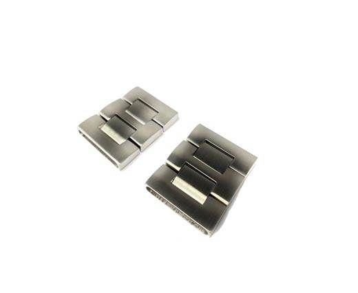 Stainless Steel Snap Lock - MGST-75-31*3.5mm-Steel