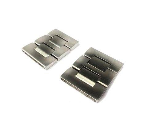 Stainless Steel Snap Lock - MGST-75-30,5*7,5mm-Steel