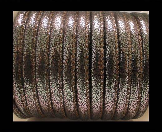 Eco-Nappa 6mm- Glitter-Black