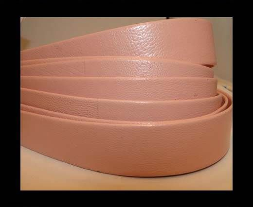 Nappa Leather Flat-Pink-20mm