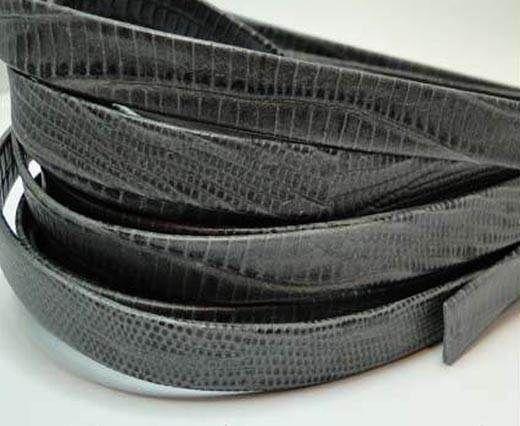 Nappa Leather Flat -10mm-Lizard Grey