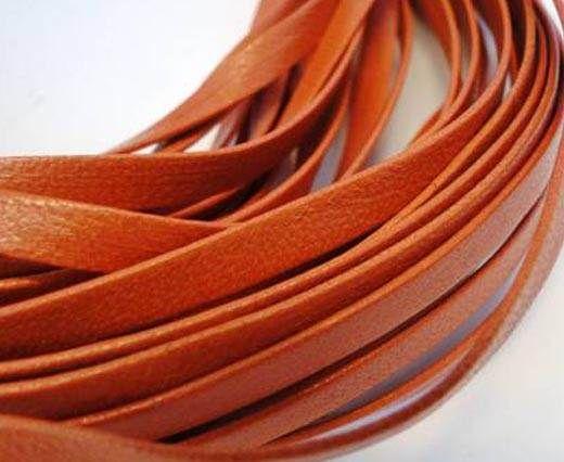 Nappa Leather Flat -Orange-5mm