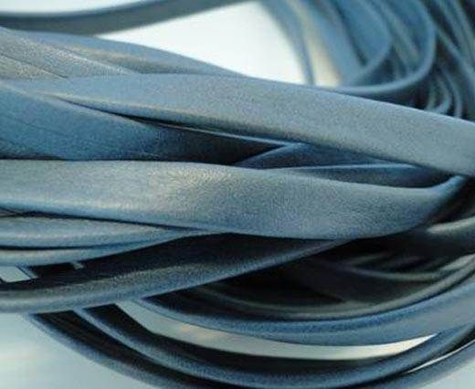 Nappa Leather Flat -Steel Blue-5mm