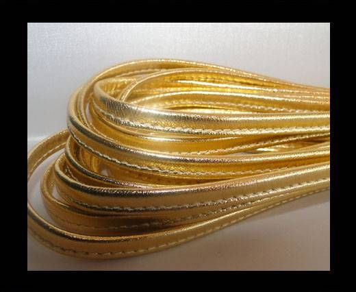 Nappa-Sewn-7mm-Snake-Gold
