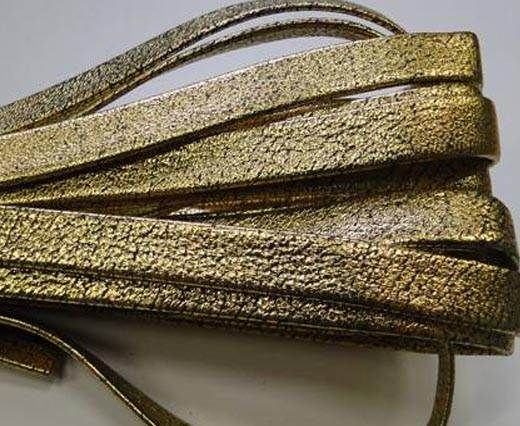 NappaFlat-10mm-plain style gold