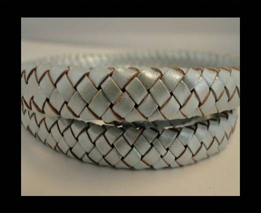 Oval Braided Leather Cord - SE-M-14