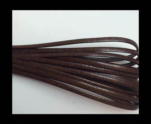 Real Flat Leather-CARPIDIEM-dark brown