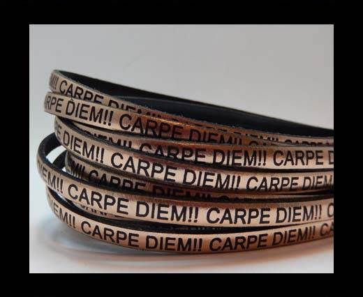Real Flat Leather-CARPIDIEM-rose gold