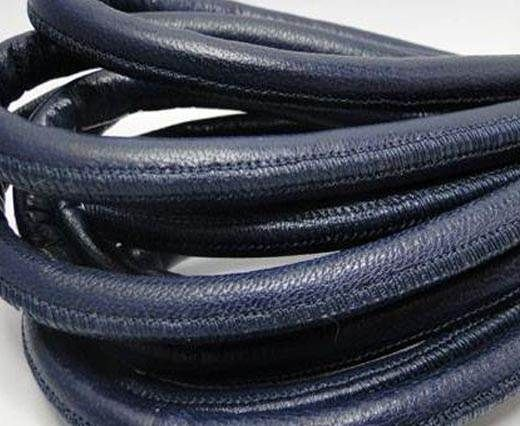 Real Nappa Leather Cords-Blue-10mm