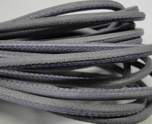 Real Nappa Round-Plain Styles-4mm-Lila