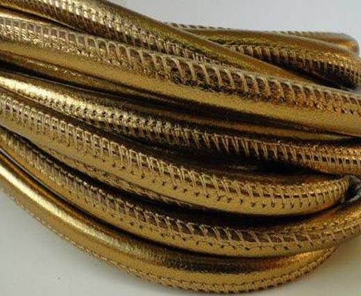 Real Nappa Round-warm gold-6mm