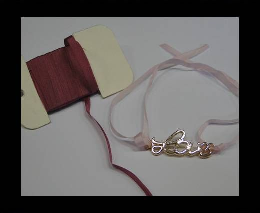 Real Silk Ribbons -A 045-Violet - 4mm