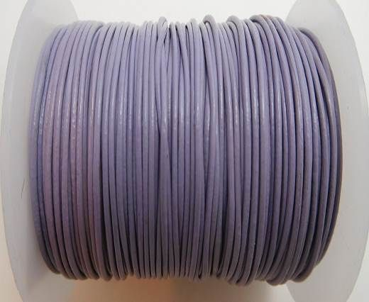 Round Leather Cord -1mm- VIOLET