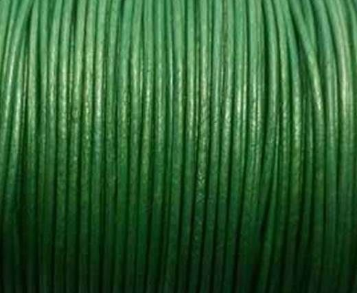 Round Leather Cord -1mm- SE M.Olive Green