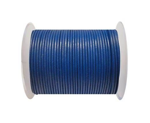 Round Leather Cord SE/R/Blue - 3mm