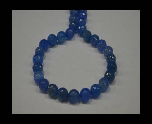 Semi Precious Stones item 5-10mm-Light Saphire