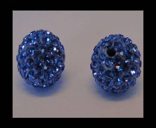 Shamballa-Bead-12mm-Light Saphire