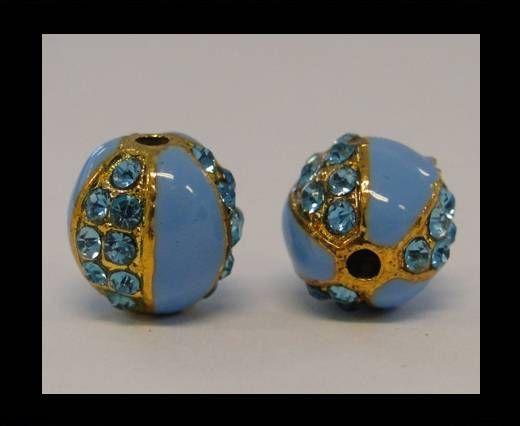 Shamballa-CA-4242 -Gold Light Blue