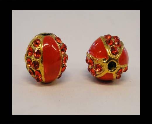 Shamballa-CA-4242 -Gold Red