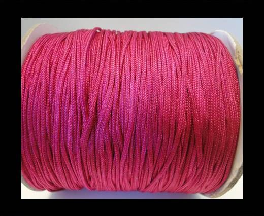 Shamballa-Cord-1mm-Fuchsia