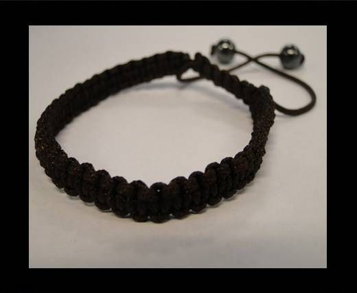 Shamballa Simple Bracelet SB-Brown